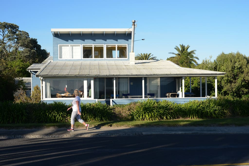 This is our historic much loved Beachfront House
