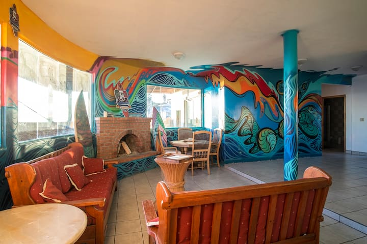 OCEANFRONT K38 Surf House MUST SEE! - Rosarito - Hus