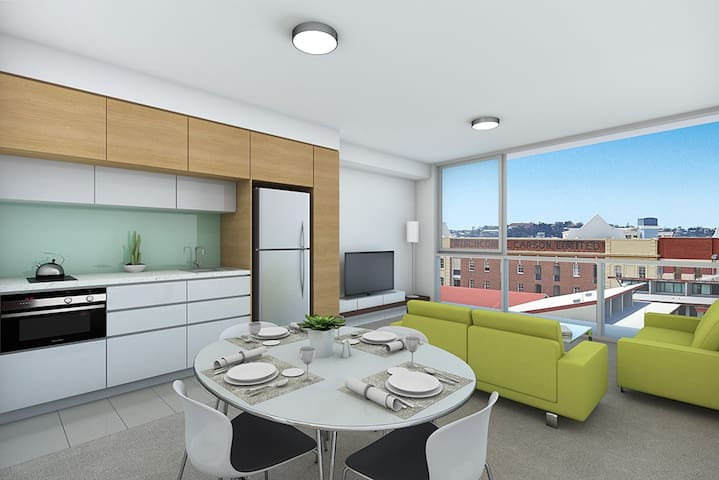 Luxury 1 bedroom Teneriffe Brisbane - Newstead - Byt