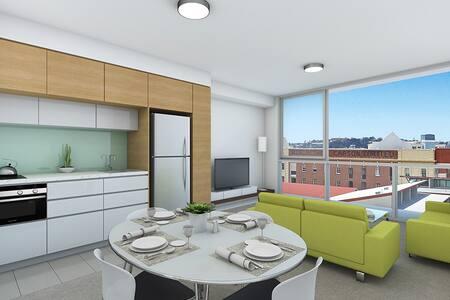Luxury 1 bedroom Teneriffe Brisbane - Newstead