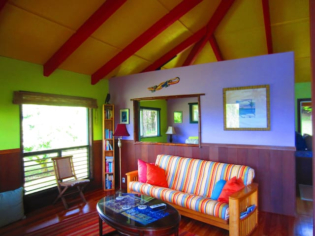 Secluded Eco friendly Cottage  - kapaau - Rumah