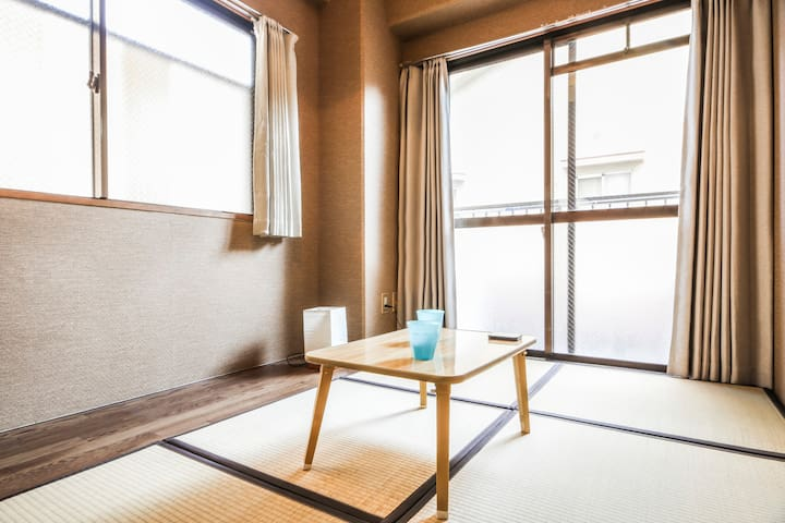 Walk to peace park/Free Mobile Wifi - Naka Ward, Hiroshima - Apartment