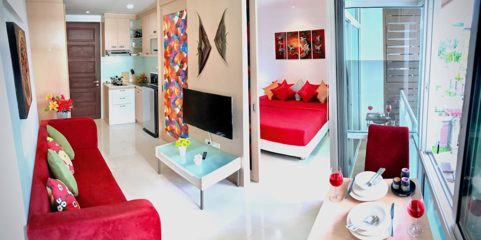 Serene 1 Bedroom Apartment close to Patong Beach
