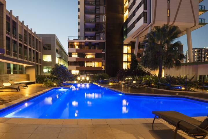 Astra Arena 1bedroom (TZDS) - South Brisbane - Lägenhet