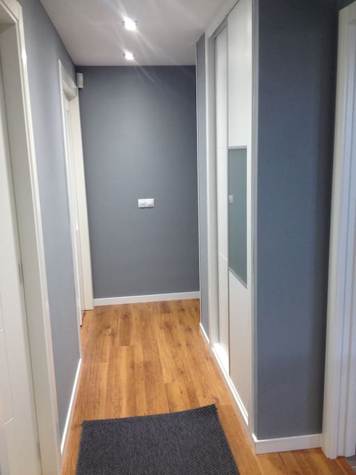 El pasillo...