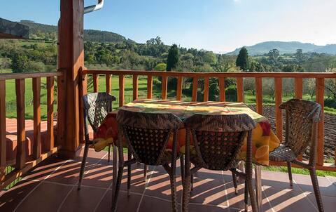 Vega Rodiles Country Apartments Balcony