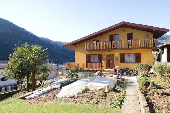 Herbal Rooms Homestay in Soca valley - Deskle - Talo