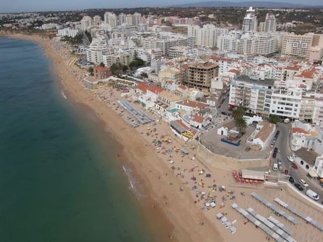 Flat with great view 300mts beach - Armação de Pêra