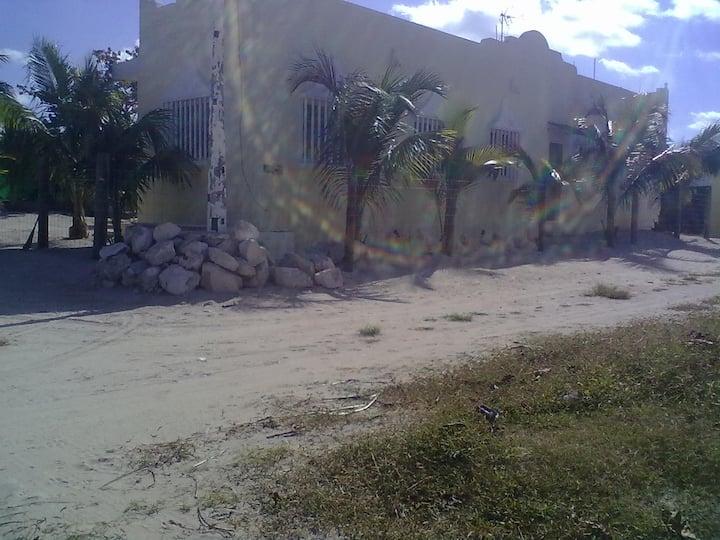 casa en la playa con pissina