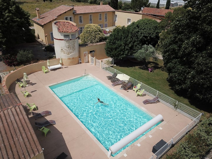 Hôtel indépendant en Provence, Luberon, Manosque