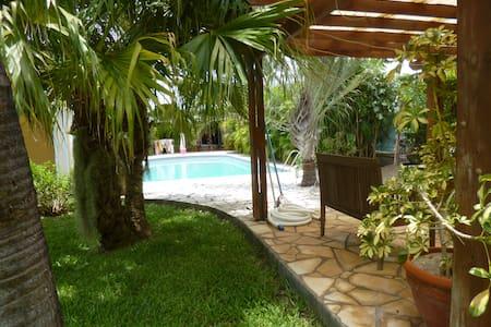 Chambre cosy avec piscine - l'Étang-Salé les Bains - Bed & Breakfast
