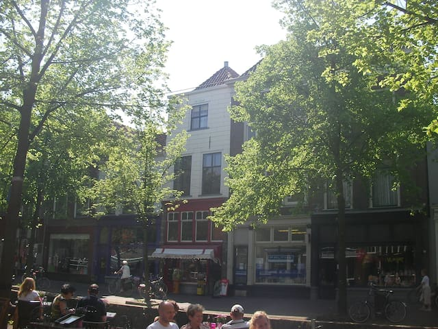 Beautiful Canal Townhouse in Delft