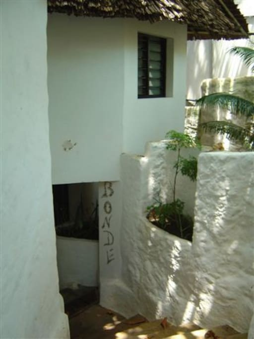 Bonde Cottage Entrance