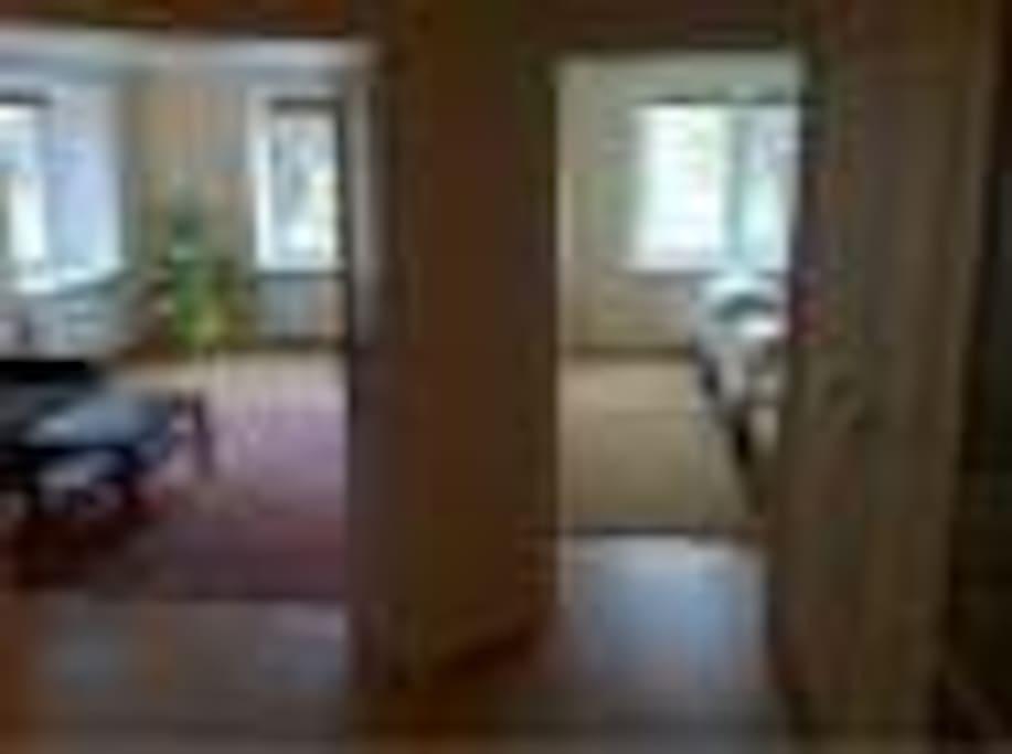 2 отдельные комнаты
