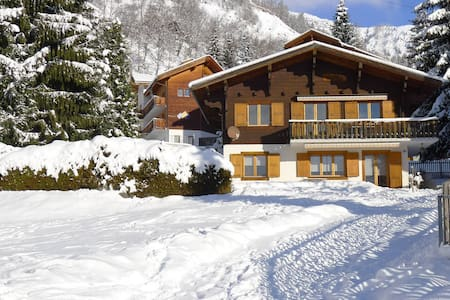 Chalet Katja / Obere Wohnung - Blatten bei Naters - Casa