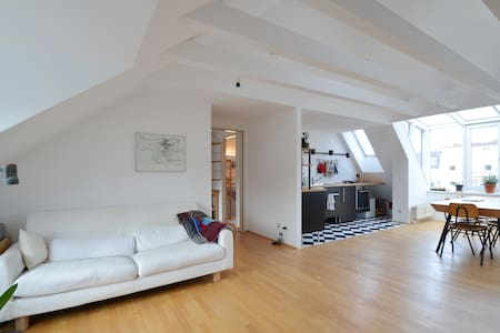 Stylish Atelier in Art&Uni District - München - Loft