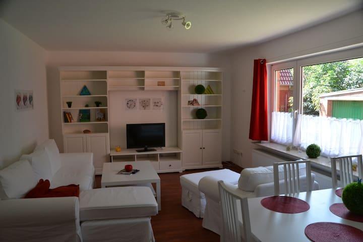 Mitten in Norden - Wohnung unten