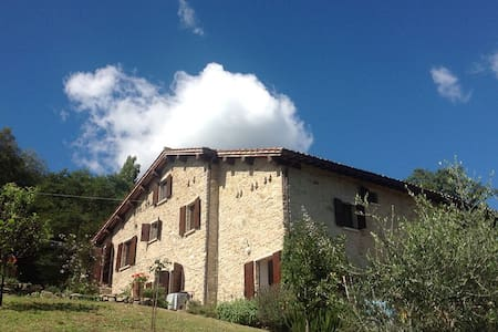 Romantic, rustic and secluded Italian holiday home - グッビオ - 一軒家