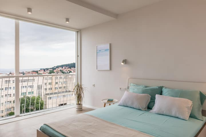 Bava apartments - studio Sea View apartment