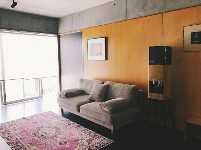 Livingroom - it's shared with us!