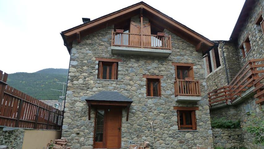 Peaceful unique mountain house - La Guingueta d'Àneu - Casa