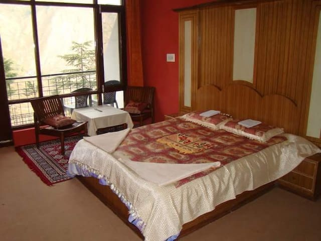 Deluxe room with a view on the valley - Dharamshala - Appartement