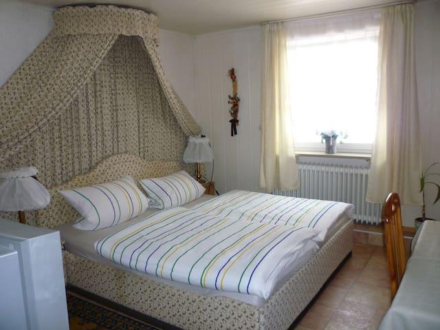 Gasthaus - Pension Am Buchberg (Mönchsdeggingen), Einzelzimmer mit separatem Badezimmer