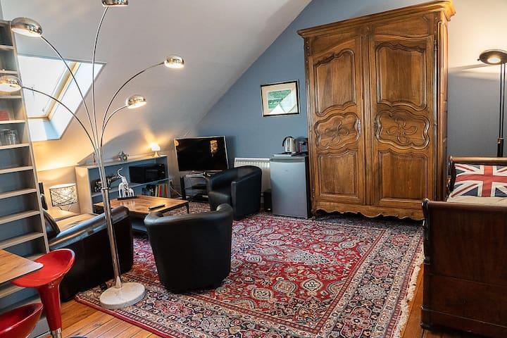Demeure Belle Epoque,  Loft Story, 37 m2