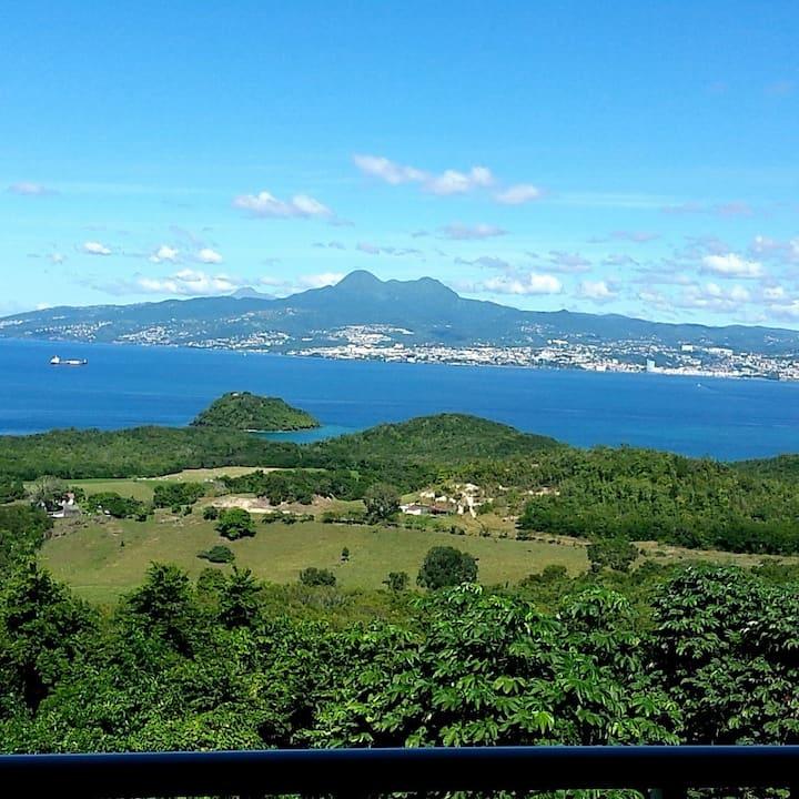 Bleu topaze - vue imprenable - Les Anses d'Arlet