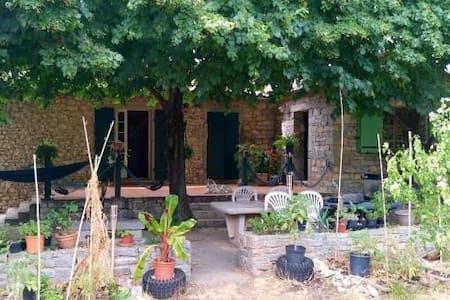 Maison+jardin à la campagne près du pic saint loup - Sauteyrargues