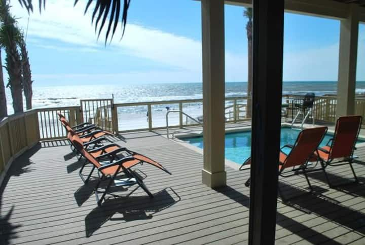 The Lighthouse - 6 Bd Home w/ Beachfront Pool & Hot Tub!