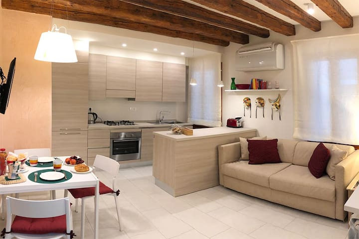 Totally equipped loft in the heart of Venice