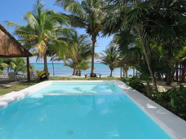 Casa Mandala, turqouise beachfront 5 bedroom house - Tulum - Leilighet