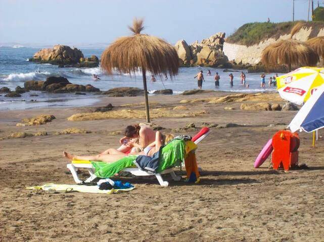 Casa a pasos de la playa - Con Con - House