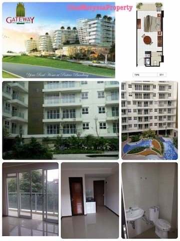 Brand New Studio Apartment for Rent - Bandung - Daire