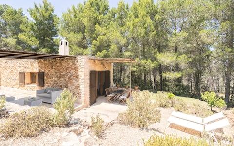 Casa de campo con vistas
