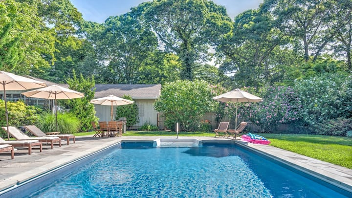 New Listing: On Quiet Street, Heated Swimming Pool, Near Public and Private Association Beaches