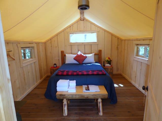 Glamping Cabins - Open May-Mid-Sept. - Victor - Jurta