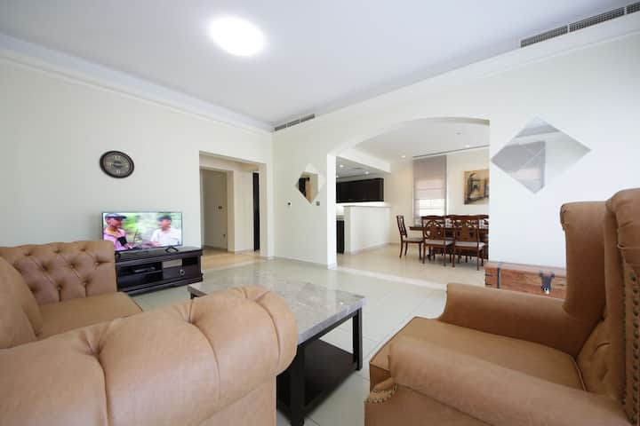Dazzling Self-Contained 2 Bedroom Villa in JVC