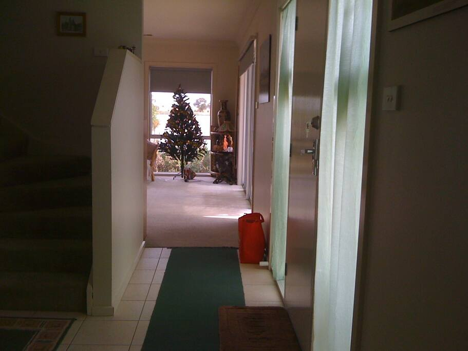 hall way from main entrance door