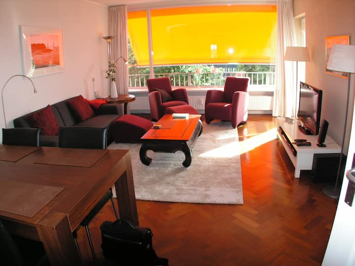 Luxery apartment 3 rooms in Naarden for 3 months +