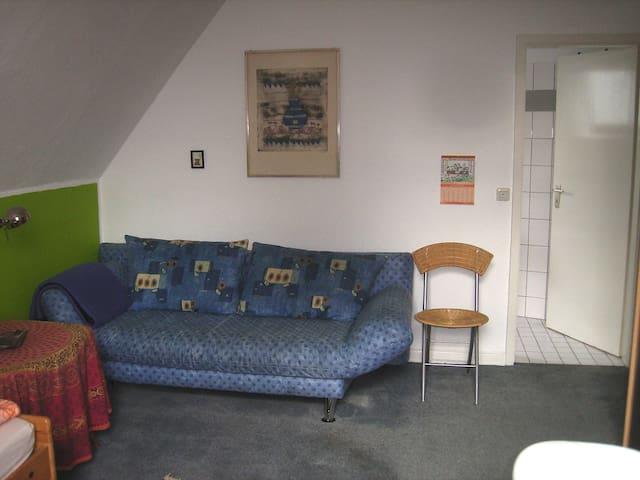 Sofa oder Doppelbett