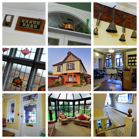 Large Edwardian House sleeping 23 - Ipswich - Rumah