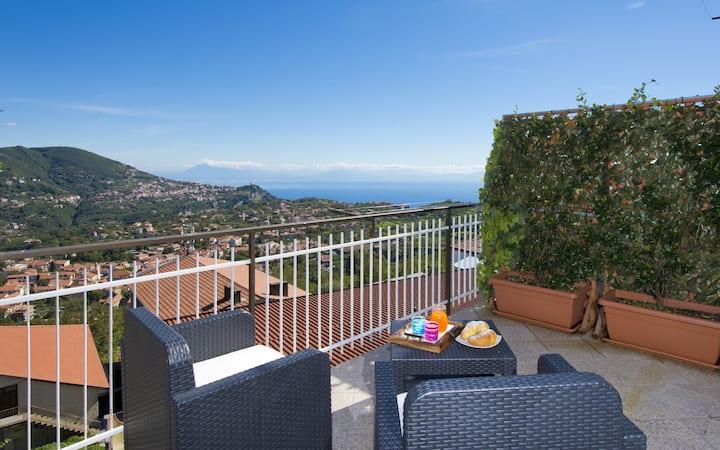 Valle degli Dei B&b Afrodite Room on Amalfi Coast