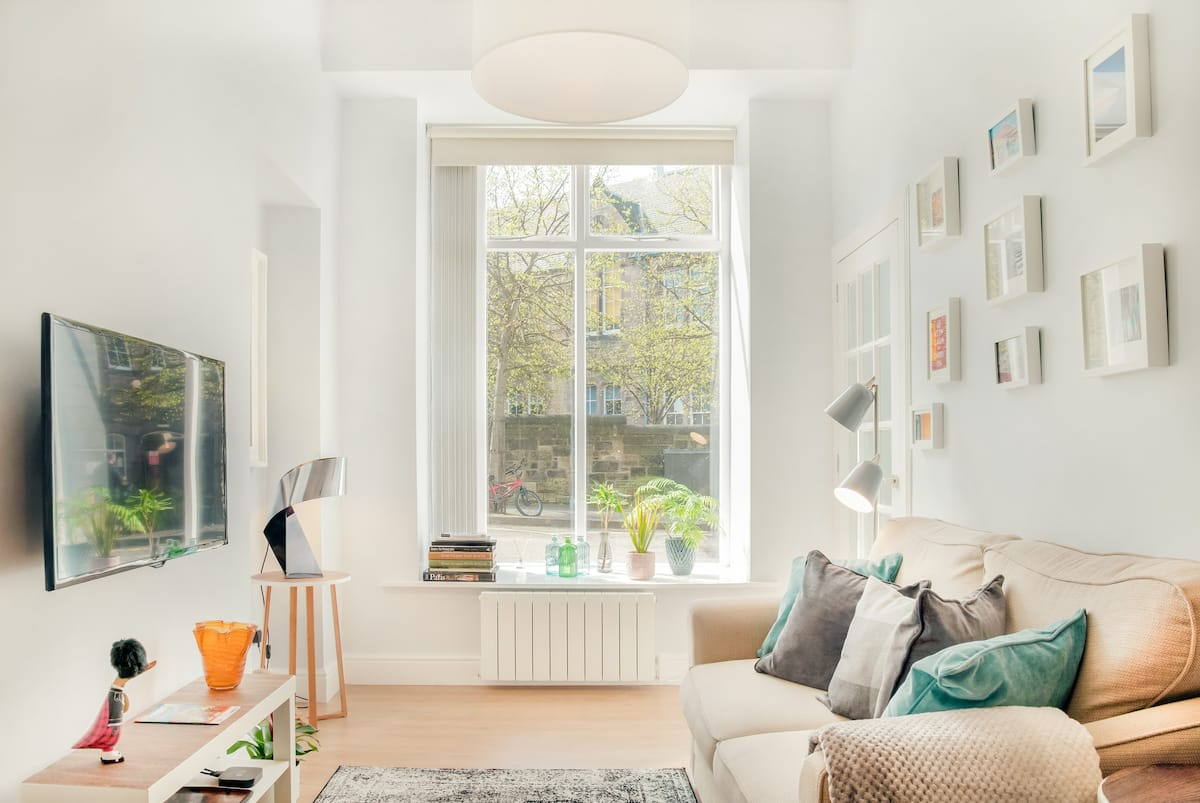 Cosy Boutique - Style Main Door Flat Close to Calton Hill