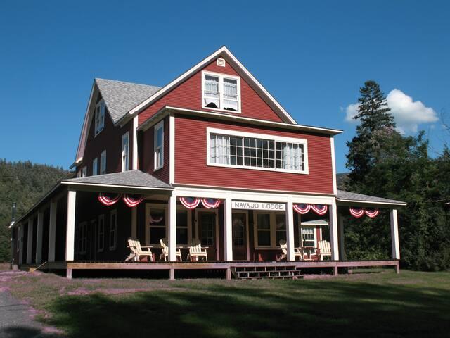 Navajo Lodge in the Adirondacks