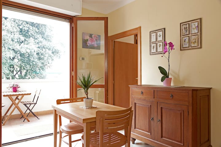 Cozy LowCost w Terrace& FreeParking - Firenze - Flat