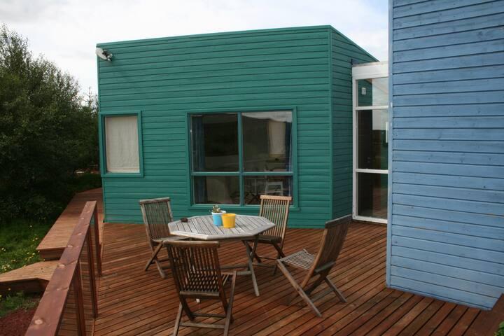South veranda, room 1, 2 and 3