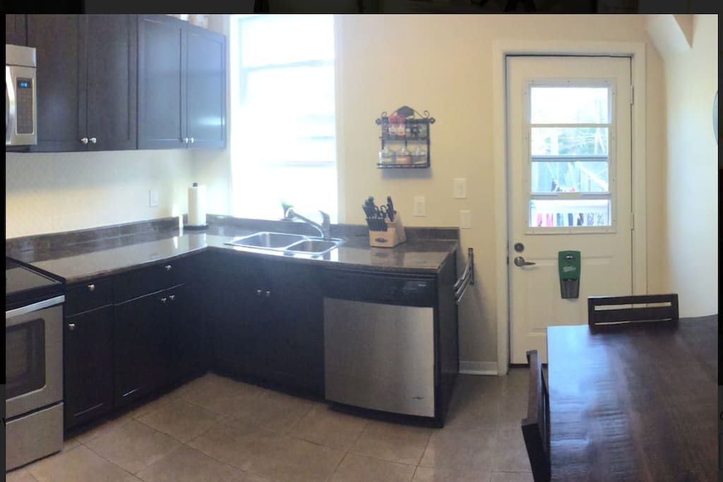 Shared Living Space: Kitchen