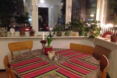 Charming apartment in city centre - Falun
